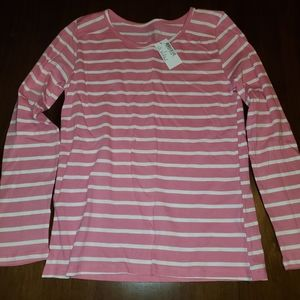 Girl's Children's Place Striped Shirt Size 10/12